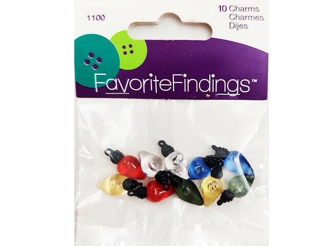 Blumenthall Lansing Favorite Findings Christmas Lightbulb Charms #1100