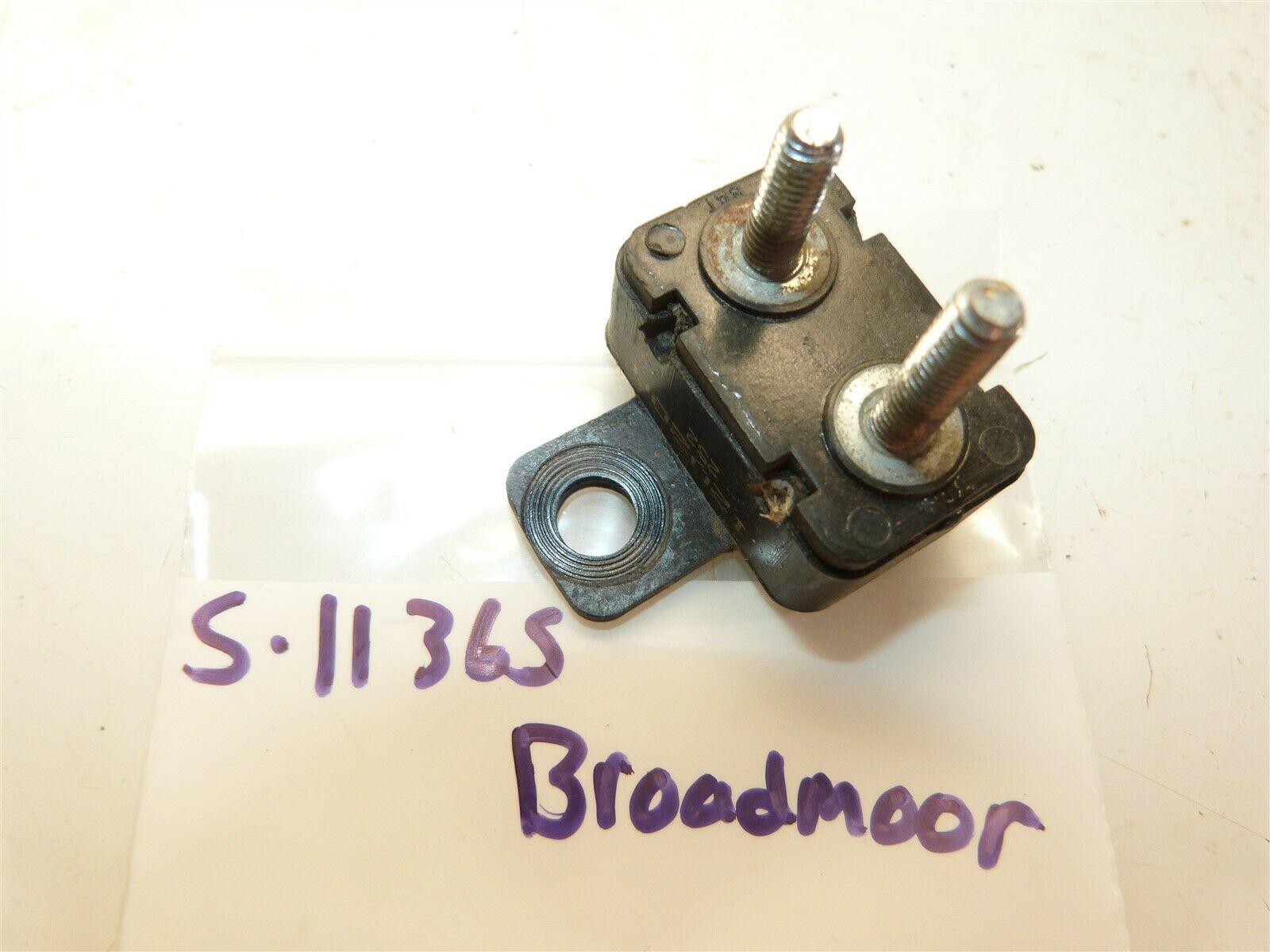 "Simplicity 16hp Broadmoor 44"" Lawn Tractor Circuit Breaker - $13.06"