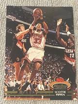 1992-93 Topps Stadium Club NBA Scottie Pippen #367 Bulls Card A6264 - $1.94