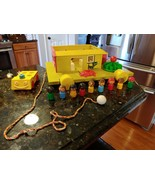 Vtg Burco Fisher Price knock off bootleg clone figures playground house Lot - $259.95