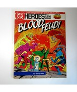 1985  Mayfair DC  Heroes BLOOD FEUD Role Playing Module #203 - New Teen ... - $12.50