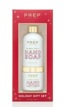 New PREP Your Skin Oatmeal Honey Hand Soap And Lotion Holiday Gift Set 10 Fl Oz
