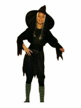 xcg239 Child WITCH Halloween Costume Medium 8-10 - $26.13