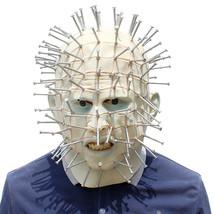 Hellraiser Mask Helmet Halloween Cosplay Season Natural Platex - $64.35 CAD