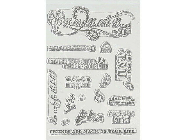 Disney Princess A6 Stamp Set, Cinderella #DUS0674