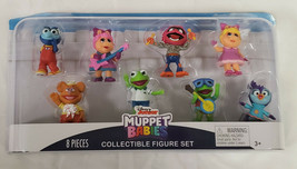 NEW SEALED 2019 Just Play Disney Junior Muppet Babies Action Figure Set of 8 - $19.79