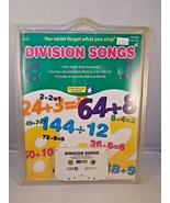 Division Songs Math Facts Cassette Tape & Book Educational Insights  - $4.95