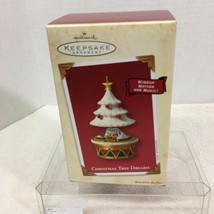 2003 Christmas Tree Dreams Hallmark Christmas Tree Ornament MIB Price Tag H3 - $28.22