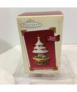 2003 Christmas Tree Dreams Hallmark Christmas Tree Ornament MIB Price Ta... - $28.22