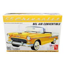 Skill 3 Model Kit 1955 Chevrolet Bel Air Convertible 2 in 1 Kit 1/16 Sca... - $60.53