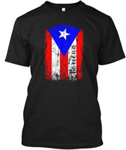 Distressed Puerto Rico Flag Bori Hanes Tagless Tee T-Shirt - $18.99