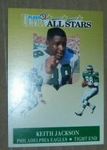 1991 FLEER ULTRA ALL STARS INSERT KEITH JACKSON EAGLES #2 OF 10 - $0.99