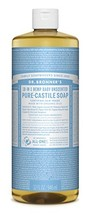 Dr. Bronner's - Pure-Castile Liquid Soap (Baby Unscented, 32 Ounce) - $21.96