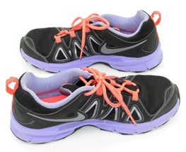 Nike womens Alvord 10 Sneakers Running Shoes Black Lavender Neon Pink Si... - $20.25