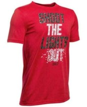 T-Shirt Shoot the lights out Under Armour Youth  L Red New with tags - $17.82