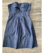 Guess Womens Size Small Strapless Blue Denim Dress Fit And Flare AS-IS - $21.75