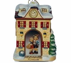 Hummel Christmas ornament figurine goebel Bavarian Bradford clock shoppe... - $29.65
