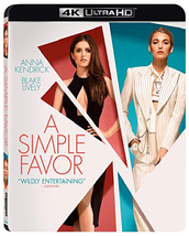 A Simple Favor  [4K Ultra HD + Blu-ray]