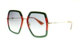 Gucci Women Design Sunglasses GG0106S 56mm Authentic - $199.00