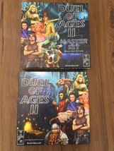 Duel of Ages 2 Basic & Master Game Set + Signed Swatch   - $174.15