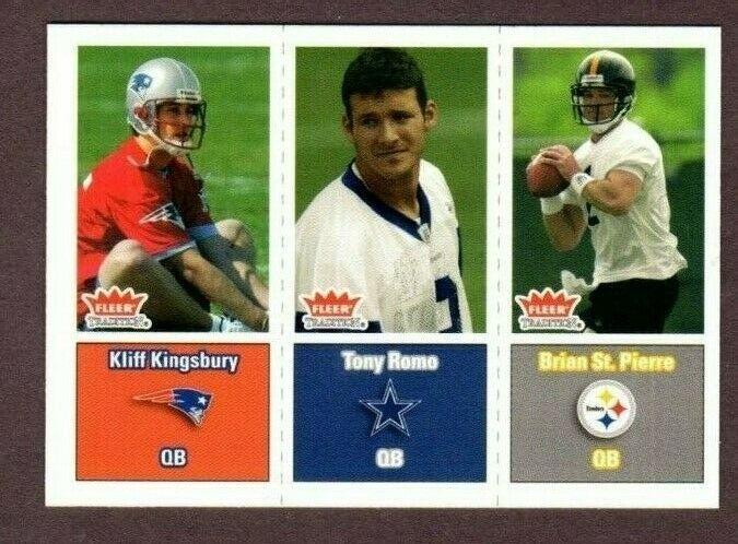 2003 FLEER TRADITION #299 TONY ROMO (RC) ROOKIE CARD- DALLAS COWBOYS