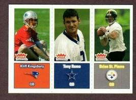 2003 Fleer Tradition #299 Tony Romo (Rc) Rookie CARD- Dallas Cowboys - $9.85