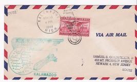 FIRST FLIGHT KALAMAZOO, MICH. - INDIANAPOLIS, IND. NOVEMBER 12, 1949 - $1.98