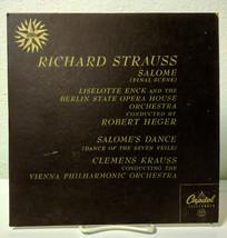 Richard Strauss Salomes Dance, Telefunken Capitol L8036, VG/VG+ - $18.95
