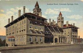 Antlers Hotel Colorado Springs CO 1919 postcard - $4.90