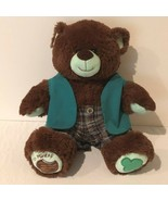 Build a Bear Workshop BABW Thin Mints Girl Scout Cookie Brown Bear Vest ... - $19.99