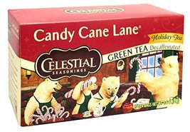 Celestial Seasonings Candy Cane Decaf Green Tea Bags, 20 ct - £3.90 GBP