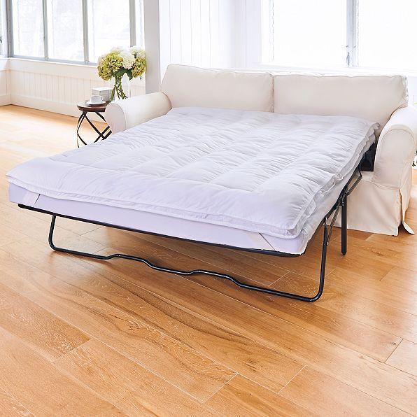 Sleeper Sofa Pillow Top Mattress Topper Pad Premium