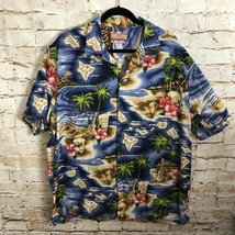 RJC Made In Hawaii Shirt Button Front Tropical Hawaiian Men's Size 2XL - $19.80