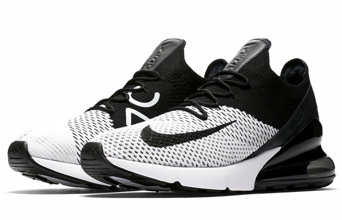 576dac051 Nike Air Max 270 Flyknit WHITE/BLACK Size 11 and 39 similar items. 57