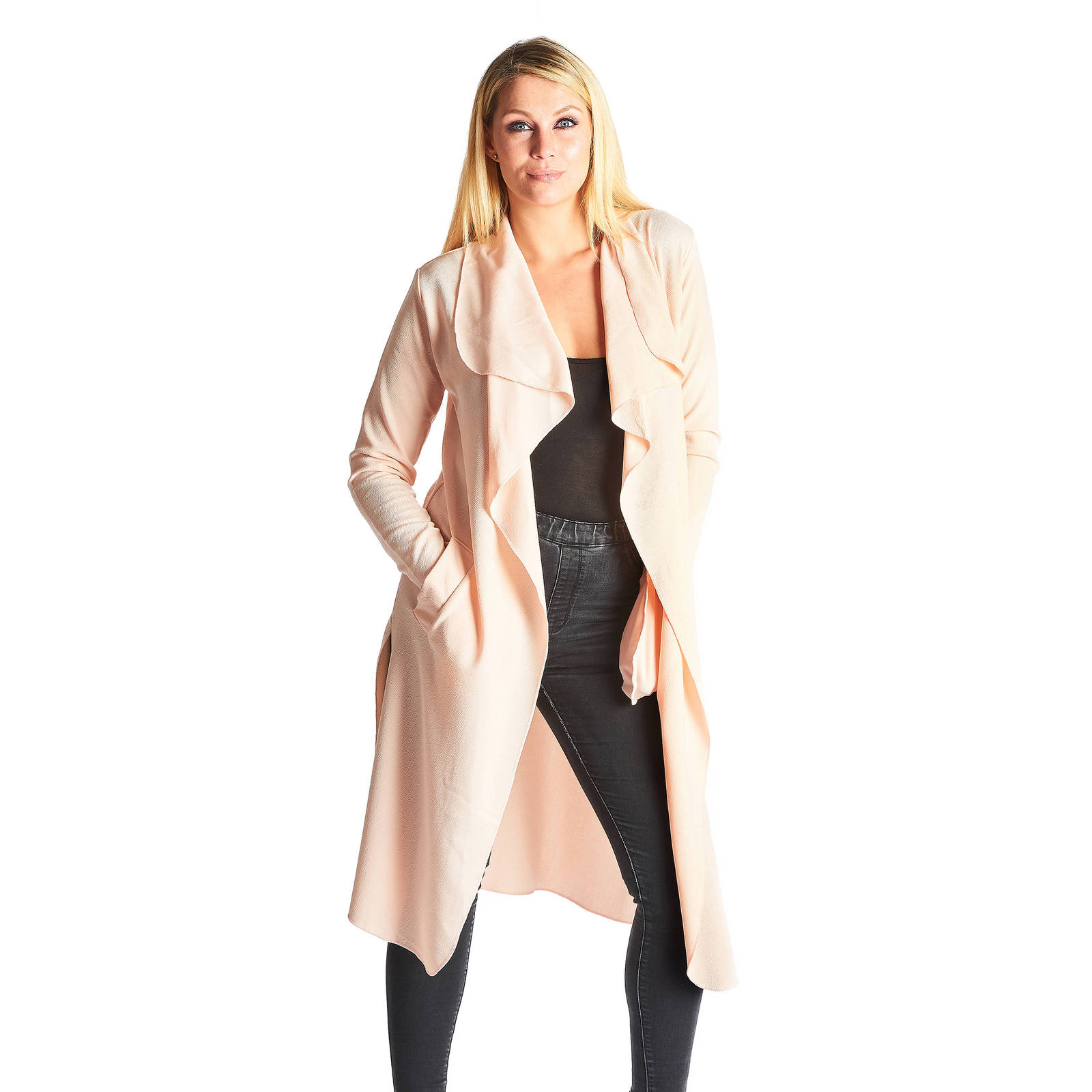 Aarwa Side Split Duster - Nude, used for sale  USA
