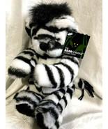 ZARA the Zebra Bear ZebraBear BearAnimal Plush Vermont Teddy Bear Collec... - $49.99