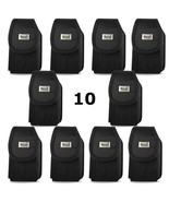 Contractor Pack of 10 Rugged Heavy Duty Canvas Cases for Motorola Tundra... - $54.44