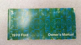 1970 FORD PASSENGER CAR Owners Manual 15794 - $16.78