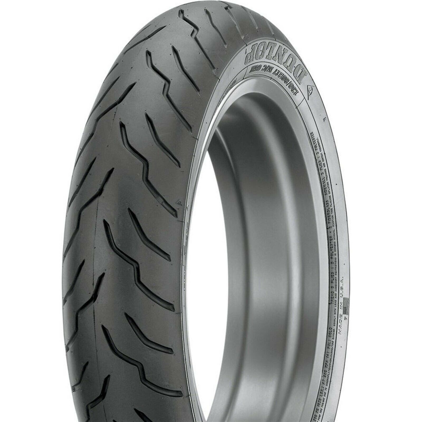 New Dunlop American Elite Blackwall 130/60B-21 Front Tire 69H Tubeless
