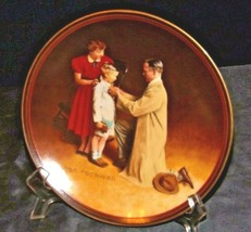 """""""Ready for the World"""" by Norman Rockwell Commemorative Plate AA20-CP2288 Vintage"""