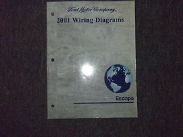 2001 Ford Escape Electrical Wiring Diagrams EWD Service Repair Shop Manual - $9.90