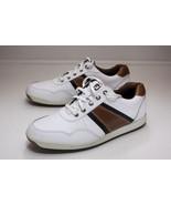 FootJoy Contour Casual 10 White Brown Golf Shoes Men's - $56.00