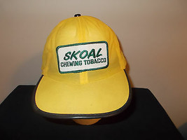 VTG-RARE 1970s Skoal snuff chewing tobacco see through floppy hat sku15 - $51.45