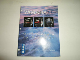 1999 Yamaha Outboard Marine Power Ad Planner Manual Factory OEM Book 99 ... - $39.48