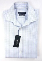 NEW TOMMY HILFIGER SUNLIGHT PLAID THFLEX ATHLETIC FIT DRESS SHIRT 15.5 3... - $35.43