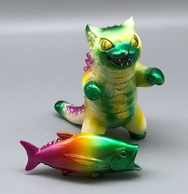 Max Toy Limited Siamese Negora exclusive to Taiwan show - Handpainted by Mark Na image 2