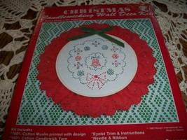 Christmas Candlewicking Wall Deco Kit - $12.00
