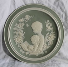 Franklin Porcelain MOTHER'S DAY 1977 Plate Handcrafted Limited Edition - $11.87