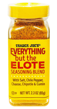 Trader Joe'S Everything But The Elote Seasoning Blend With Chile Pepper, Parmesa - $9.89+