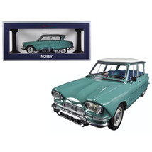 1964 Citroen Ami 6 Jade Green 1/18 Diecast Model Car by Norev 181536 - $138.97